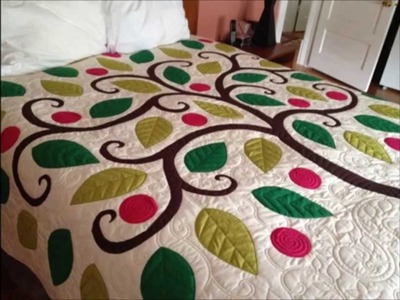 How to create the Tree of Life reverse applique on your Quilting Master system