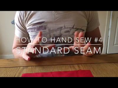 How to Hand Sew #4: Regular Seam