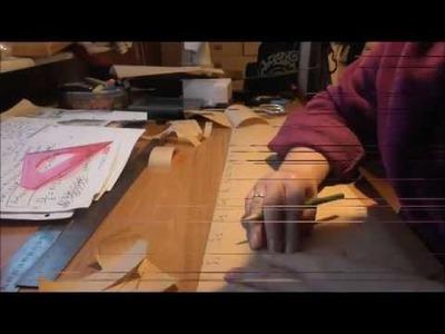 How to make a bellydance belt. Part 1: Template