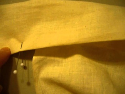 How to make a half circle wrap skirt part 3 the finish details