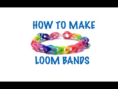 How to make a loom band EASY FAST