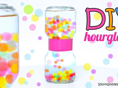 How To Make An Orbeez Hourglass – DIY Water Beads Liquid Hourglass