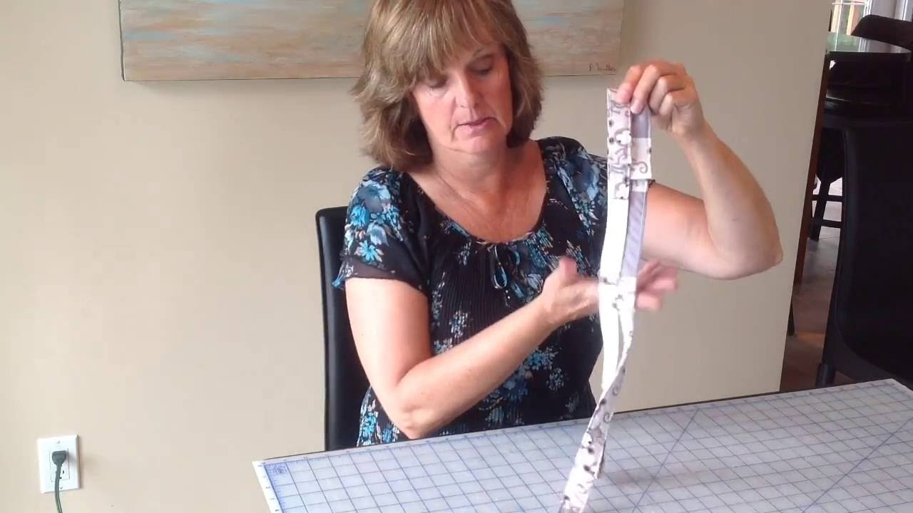 How to make baby straps to secure toy to high chair or stroller