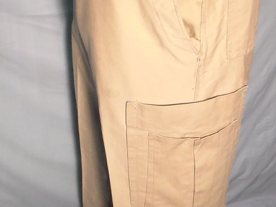 How to make Cargo pants,part 3