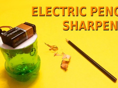 How to make Electric Pencil Sharpener at home