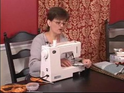 How to Make Shower Curtains : Sewing Center Seams of Shower Curtain
