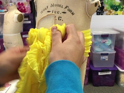 How to retie your ruffle bow!