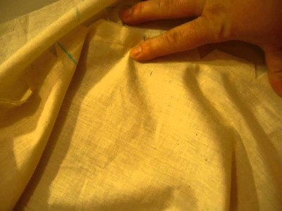 How to sew a half circle wrap skirt part 2