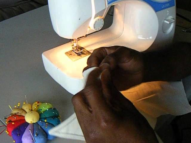 How To Sew a Men's Dress Shirt Collar Part 2| Brother LX-3125