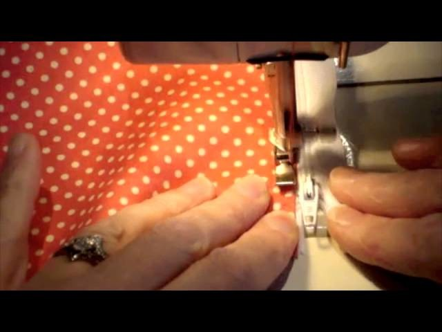 How to sew in a lapped zip