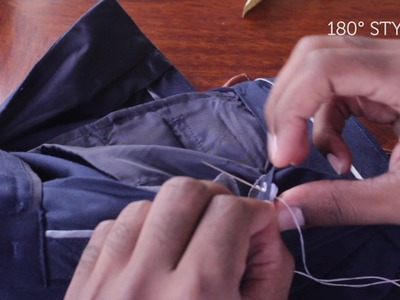 How To Sew On Suspender Buttons