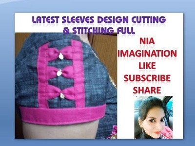 Latest Sleeves design Cutting & Stitching full | in English