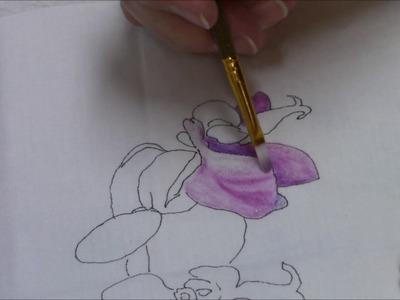 Making an Art Quilt with Inktense Pencils