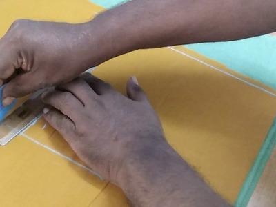 Part 1 back part measurement   blouse cutting