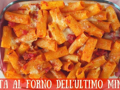 PASTA AL FORNO DELL'ULTIMO MINUTO Ricetta facile - Quick and Easy Italian Baked Pasta Recipe