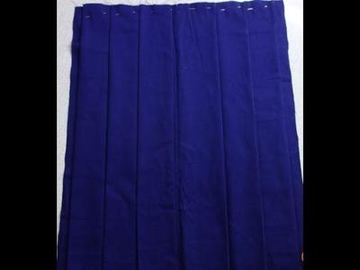 Pleated skirt school uniform: how to do pleats