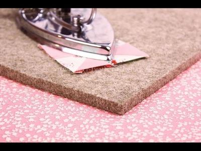 Quilter's Pressing Fleece Video Tutorial