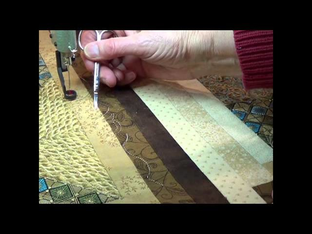 Quiltmagine - How To Repair The Stitching When The Bobbin Runs Out