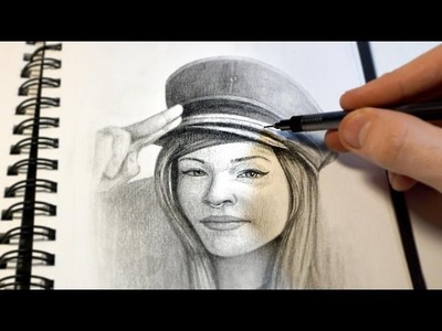 """Salute"" Graphite Drawing time-lapse stop motion, by Jim McKenzie"
