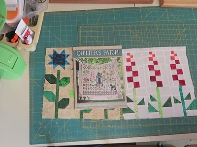 Sew Along:  Teaquilts Quilter's Patch Month #3