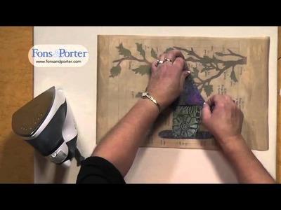 Sew Easy Lesson: Unit Method for Applique