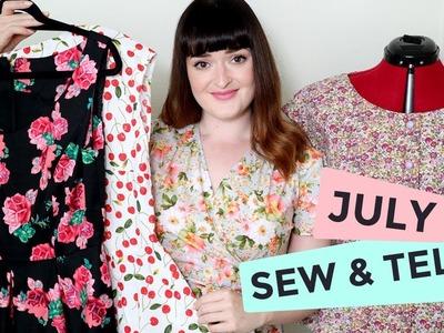 Sew & Tell | July 2017
