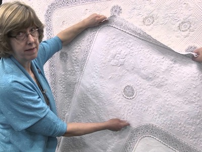 Susan Stewart – Adding Lace to Your Quilt