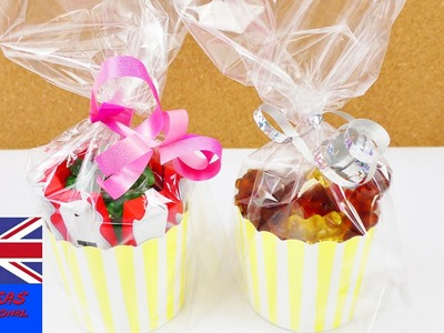 SWEET PRESENT! How to make this little gift for birthdays! Surprise candy giftbags!