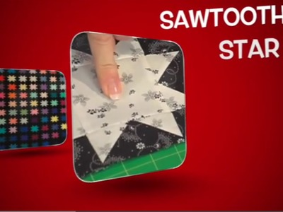 The Quilt Show Tutorial: How To Make A Sawtooth Star Quilt Block