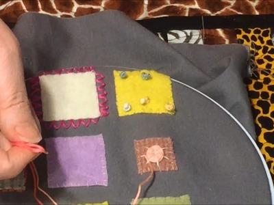 Woven Circle.Rose stitch by Charisma
