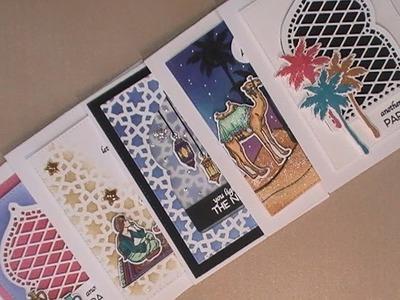 10 Cards - 1 Kit. Part 1. My Monthly Hero Kit. December 2017. C&CT