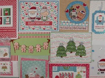 10 Cards 1 Kit - Simon Says Stamp - Milk and Cookies - Dec 2017