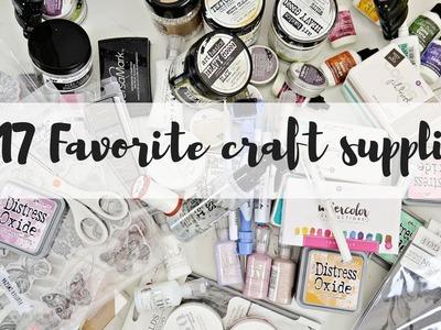 2017 crafty favorites! | List of favorite craft supplies
