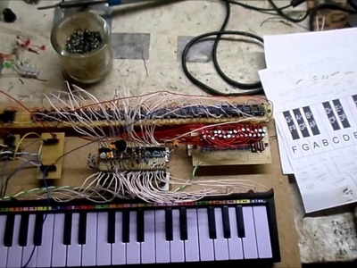 555 polyphonic piano how- to build