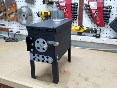 Ammo Can Stove Build DIY