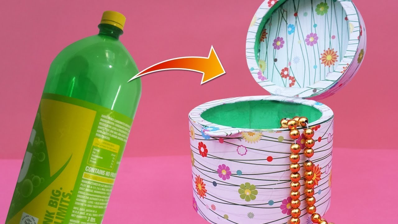 Best out of waste plastic bottle craft ideas diy recycled for Best out of plastic