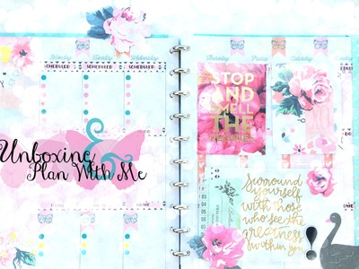 Big Happy Planner Plan With Me + Cocoa Daisy Unboxing