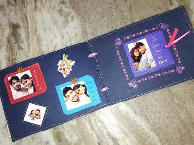 Birthday scrapbook for husband   best scrapbook ideas