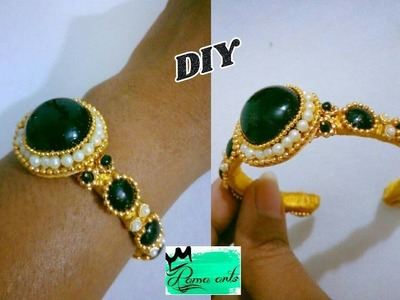 Bracelet. khada with silk thread -How to make this bracelet   jewellery tutorials