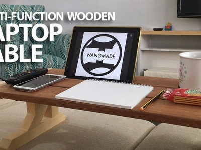 Building a Multi-Function Wooden Laptop Table