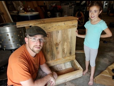 Building an Automatic Pig Feeder With My 8yr old Daughter