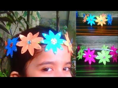 Children Crown making tutorial-Easy kids crown ORIGAMI-DIY mukut making ideas-Mukot making