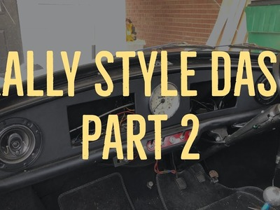 Classic Mini DIY - Custom Rally Dash Part 2