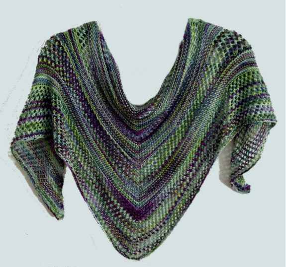 Classic Spring Scarf Knitting Pattern Knittingstudio Size 63 X