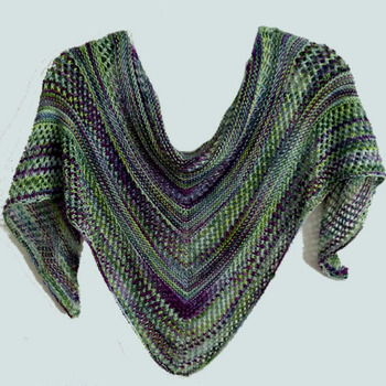 Spring Scarf Shawl Knitting Pattern Knittingstudio Cascade Yarns