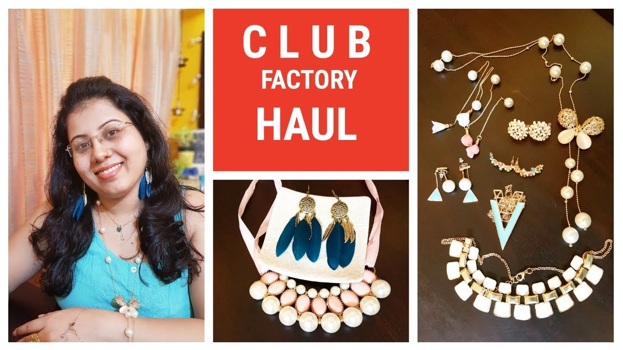 CLUB FACTORY HAUL & REVIEW, Online Shopping in India, Jewellery ...