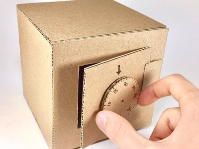 Crazy! How to Make Safe With Combination Lock For Kids