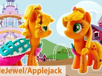 Custom MLP Split Pony with AppleJewel and Applejack DIY Tutorial
