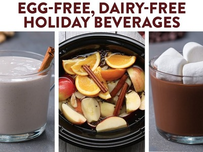 Dairy-Free Holiday Drinks