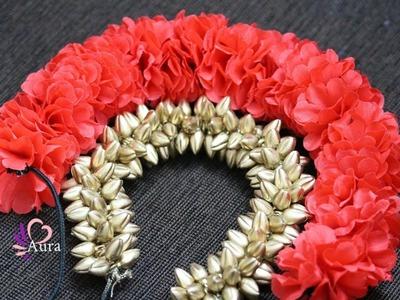DIY   Artificial Flower Veni Tutorial